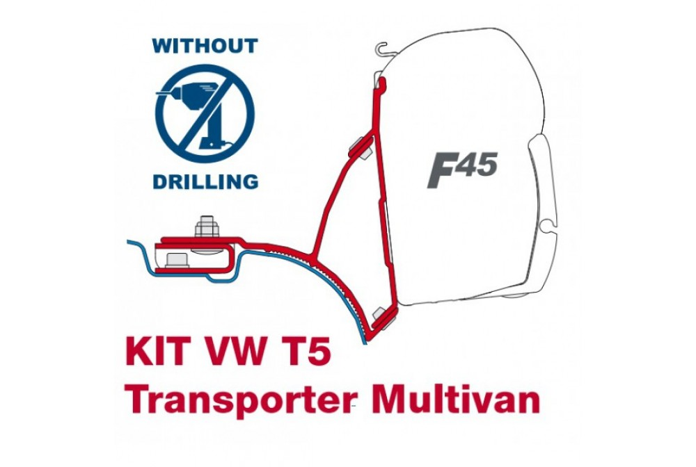 KIT F45 SOPORTES T5 MULTIVAN