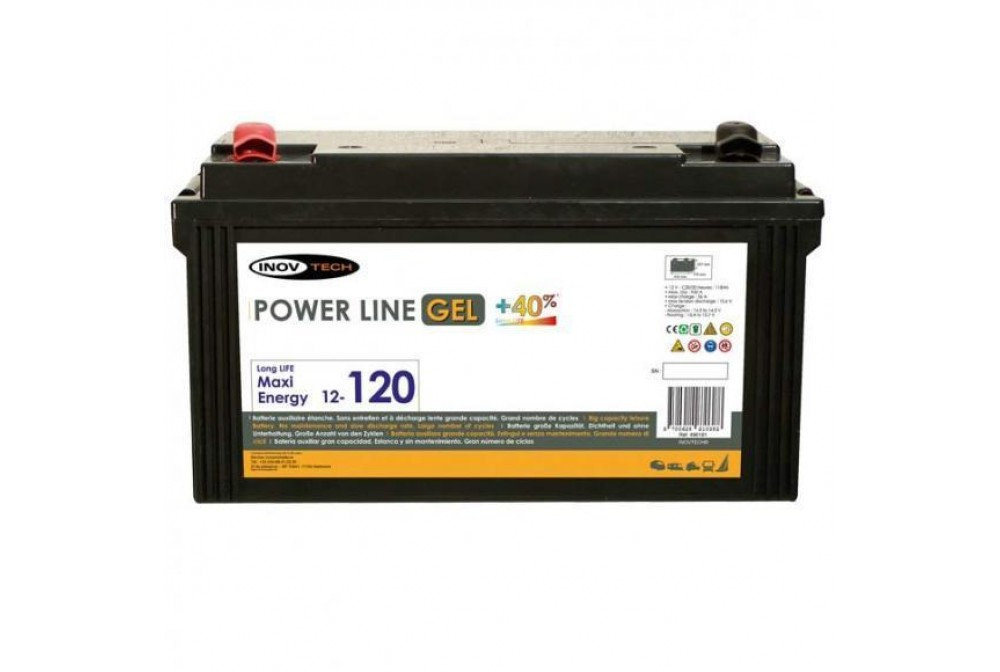 BATERIA GEL 120A  POWERLINE