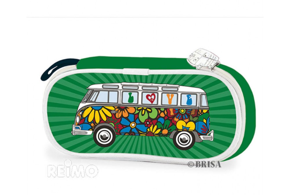ESTUCHE PLASTICO VW COLLECTION VERDE